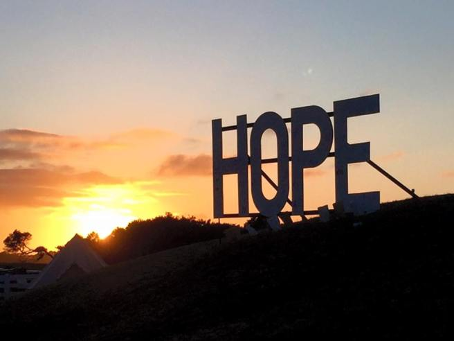 Relay For Life hope sunrise